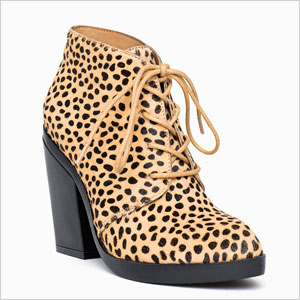 Leopard print boots from ShoeMint