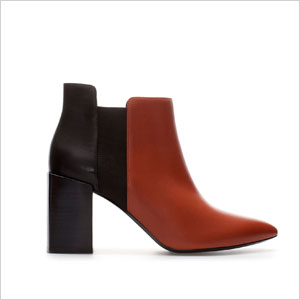 Zara two toned boots