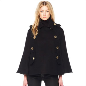 Michael Kors Pea coat cape