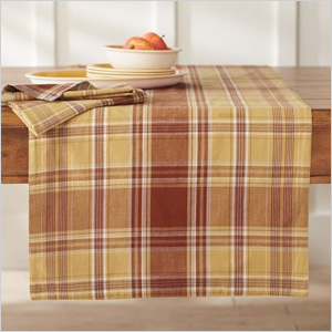 Mad for plaid at home