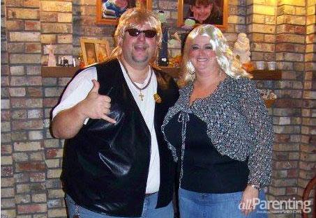 Halloween couple costumes- Heather