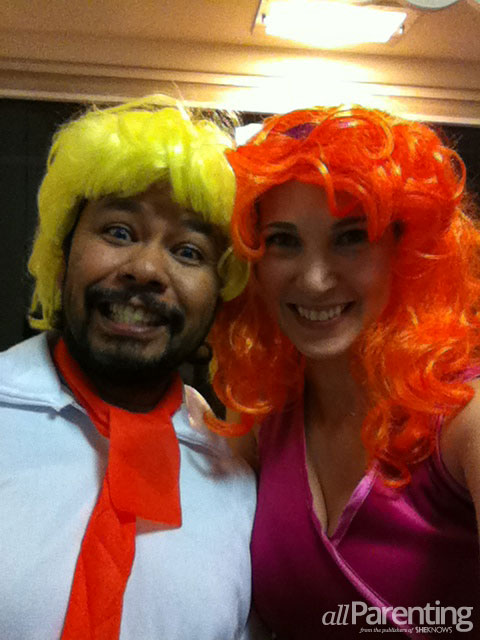 Halloween couple costumes- Kat
