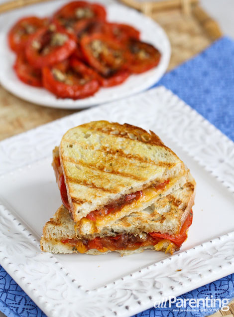 allParenting Roasted tomato & grilled cheese sandwich