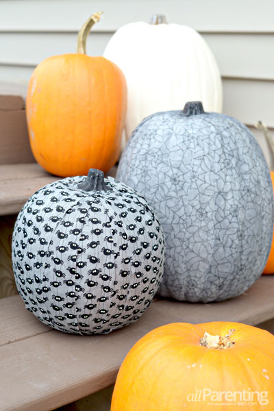 allParenting Fabric covered pumpkin
