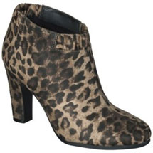Sam & Libby for Target Selena Ankle Boot in Leopard Print