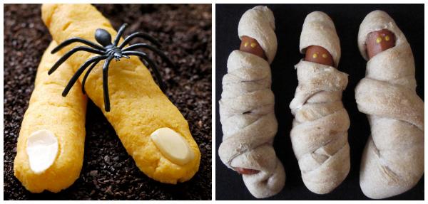 Halloween foods collage- Weelicious