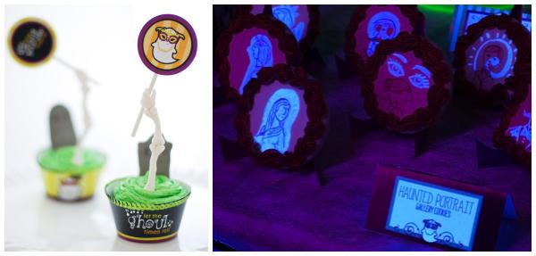 Halloween foods collage- Tikkido
