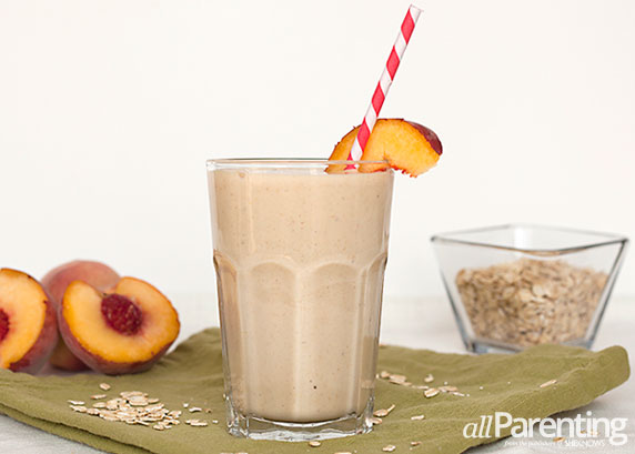 allParenting Peaches and Cream smoothie