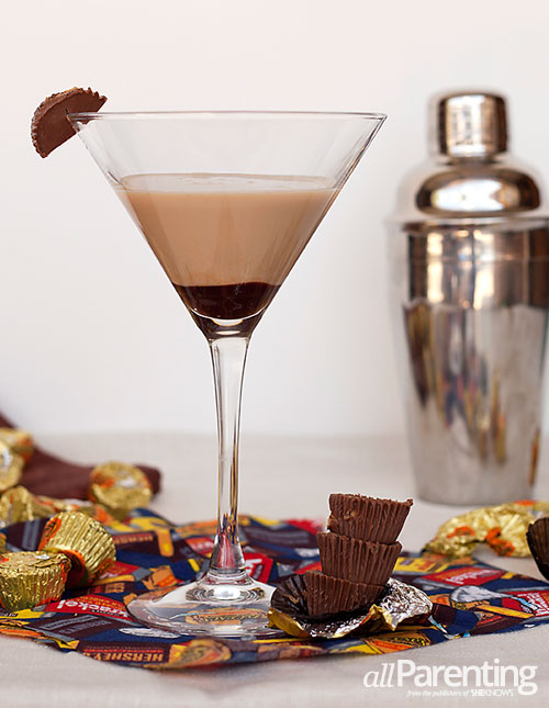allParenting Peanut butter cup martini