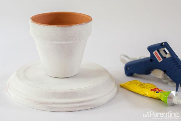 allParenting terra cotta cupcake stand step 2