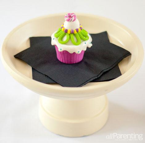 allParenting terra cotta cupcake stand