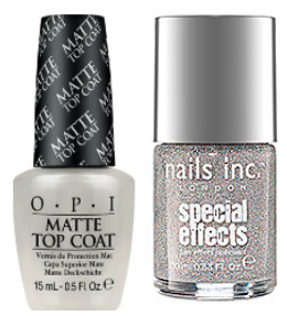 Fall nail polishes special effects/top coats
