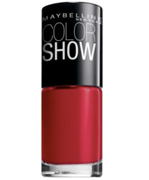 Maybelline color show's paint the town nail polish