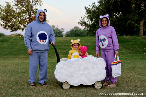No sew costumes- Care-bears  sc 1 st  allParenting : sew halloween costume  - Germanpascual.Com