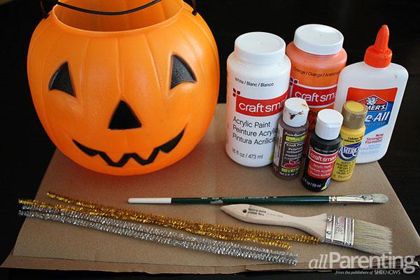 allParenting paper mache pumpkins materials
