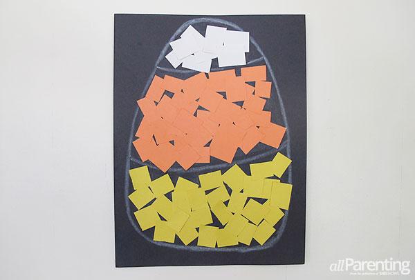 allParenting confetti candy corn collage