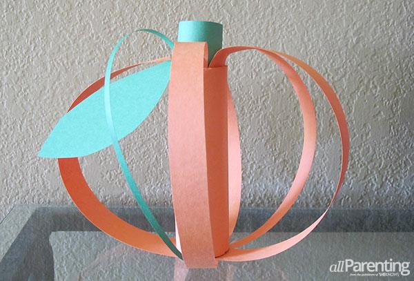 allParenting Paper pumpkin