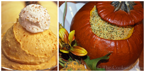 AMy Hanten- Pumpkin mousse and dinner in a pumpkin