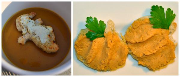 BEth Bader- Pumpkin Soup served with Pumpkin Toasties and Pumpkin Hummus