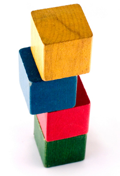 stack of blocks