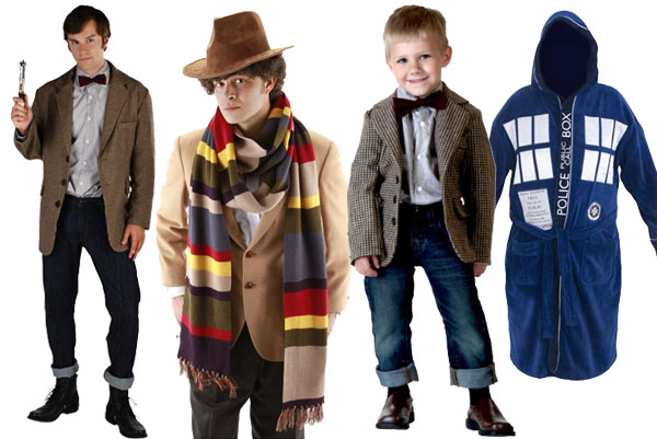 Themed Halloween costumes Dr Who