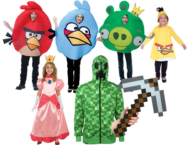 Themed Halloween costumes video games