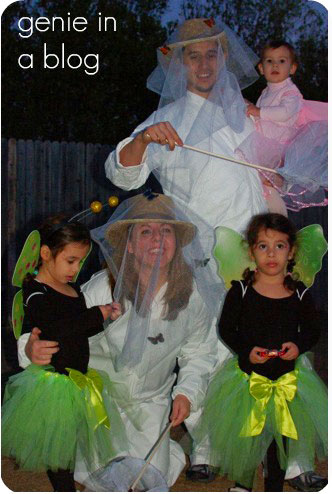 Themed Halloween costumes- LEigh Ann and family