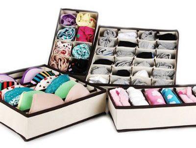 box lingerie storage