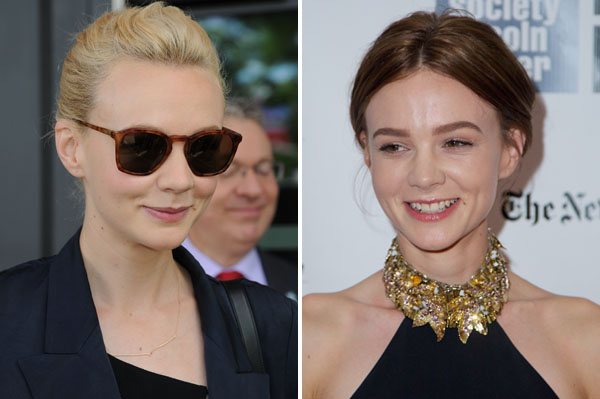 Carey Mulligan makes a change, too