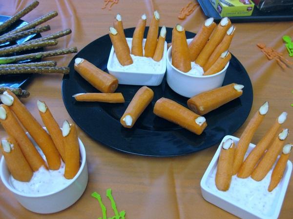 Creepy Halloween snacks