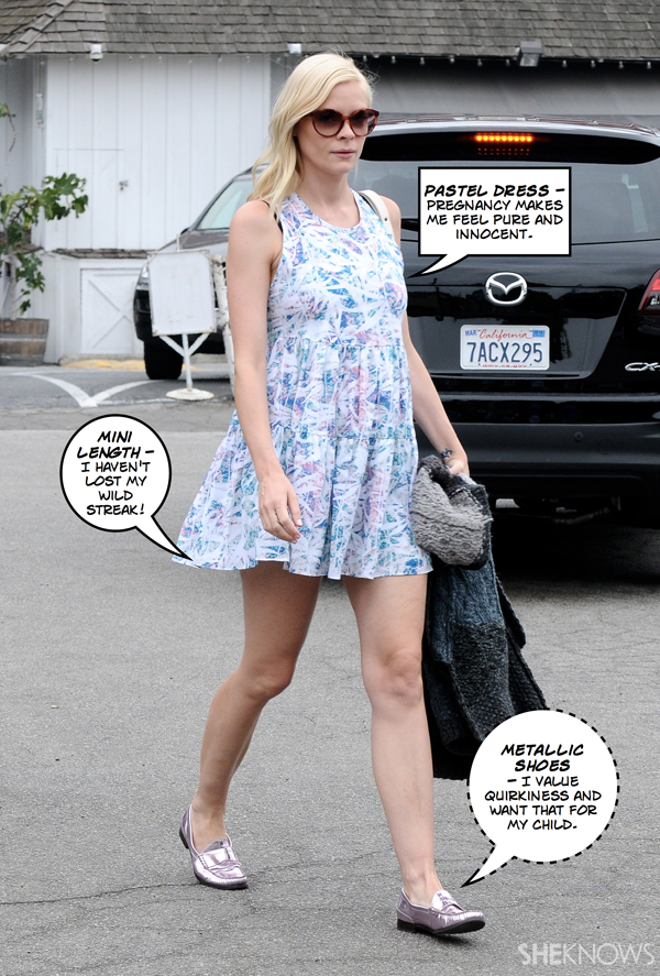 Jaime King: Hipster hippy mom
