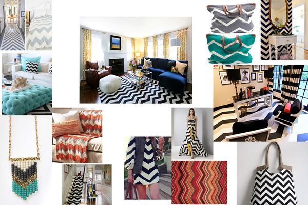 chevron inspiration board