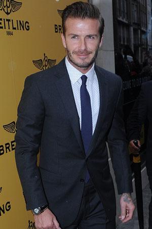 "Beckham ""too famous"" for CK undies"
