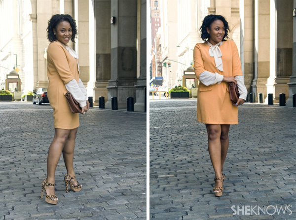 Kéla Walker's fall layered look | SheKnows.com