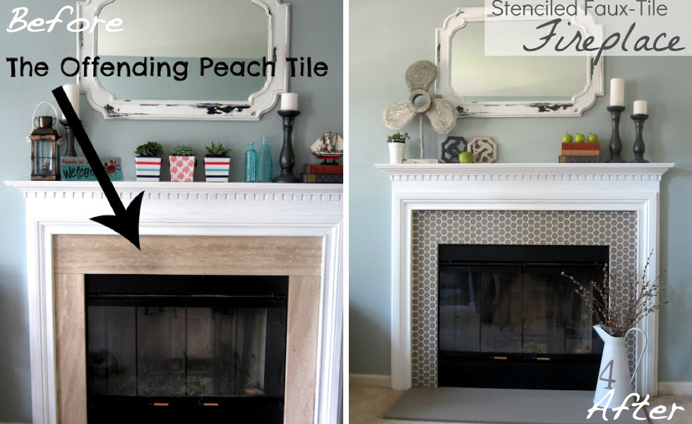 Before & after 15 Fireplace surrounds made over Page 2