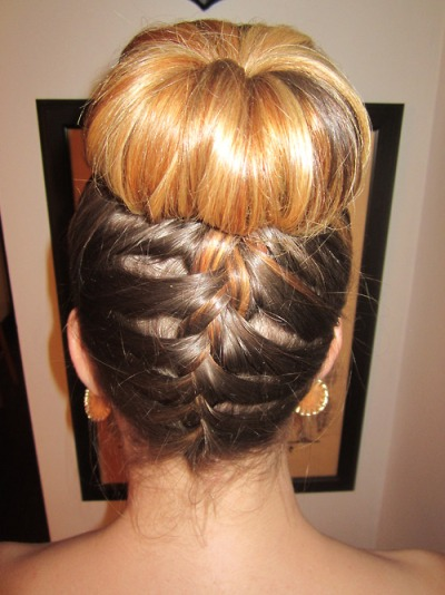 Diy hair bow bun pictures photos and images for facebook tumblr - Easy Buns And Braided Hairstyles Unveiled Fashion
