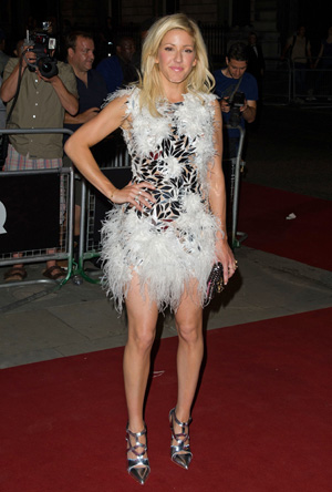 Ellie Goulding at the GQ Men of the Year awards in London