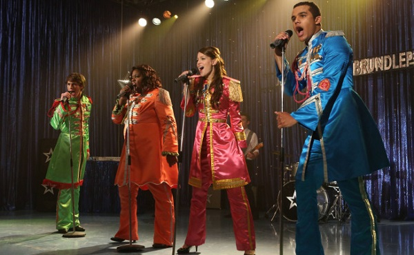 Glee releases tracks from Beatles tribute
