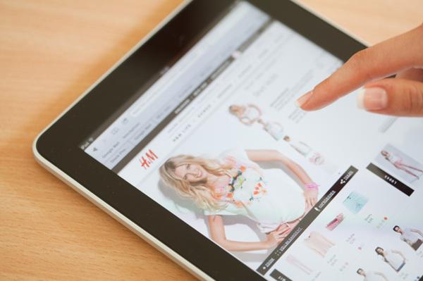 Shopping H&M online