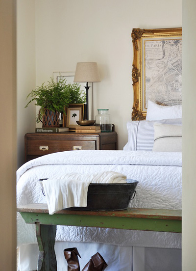 The Painted Hive -- Master bedroom