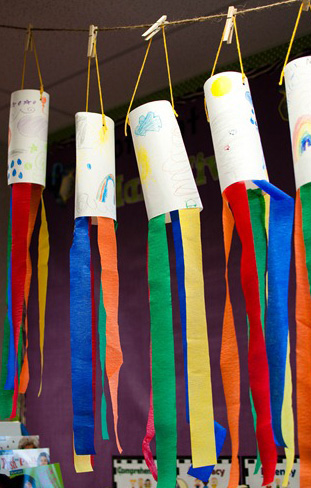 Home made wind socks