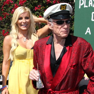 Crystal Harris & Hugh Hefner costume idea