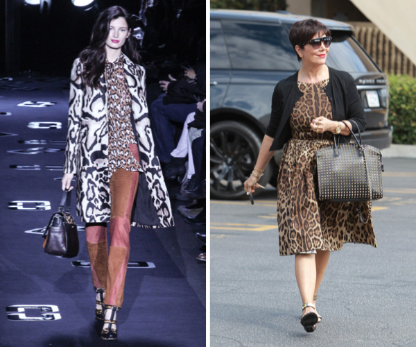 Sexy leopard fashion trend