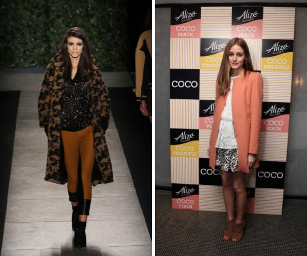 Bold coat fashion trend
