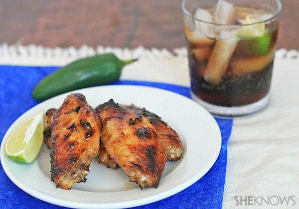 Jalapeno-cola wings