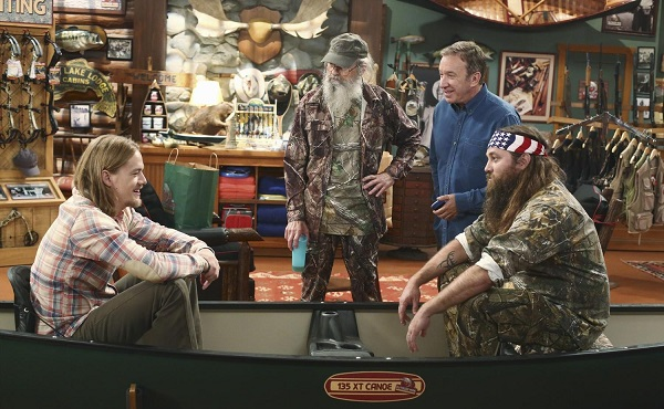Uncle Si & Willie make their acting debut