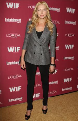 Laura Prepon wearing a blazer