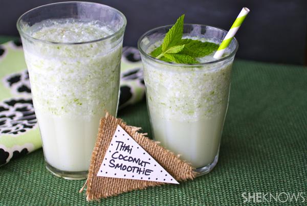 Nuts over coconuts: Thai coconut smoothie recipe