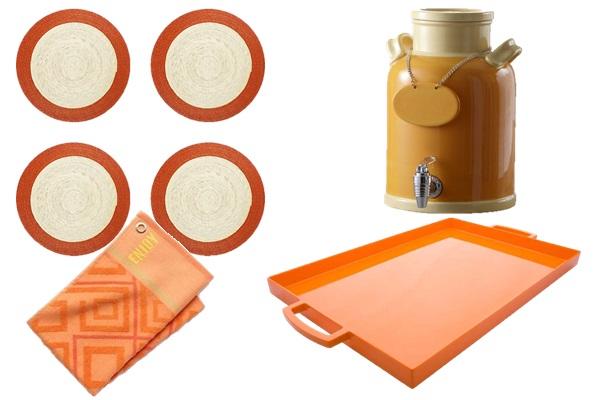 Orange in the kitchen