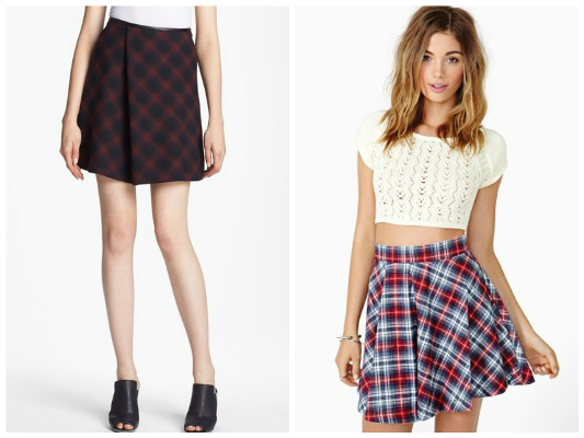 Plaid trend for fall
